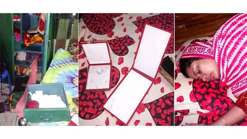 চাঁদপুরে বাসার ৩ জনকে অচেতন করে টাকাসহ ২০ ভরি স্বর্ণালংকার চুরি